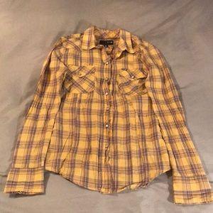 Yellow Hurley long sleeve